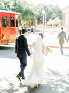 Dallas Wedding Trolley