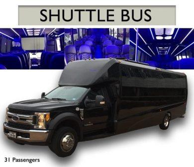 SHUTTLE BUS – 31 PASSENGERS