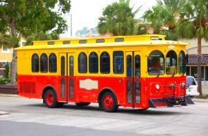 trolley bus rental
