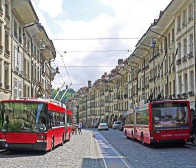 trolley bus ride